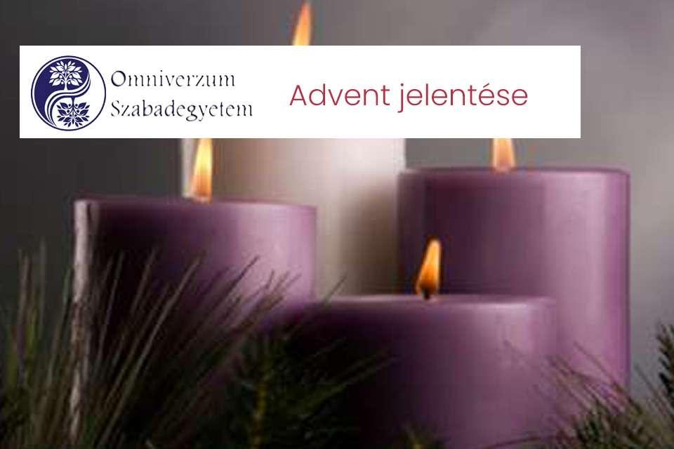 Advent jelentése, szimbolumai, üzenete