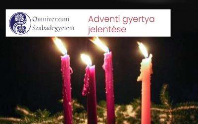 Advent első gyertya jelentése