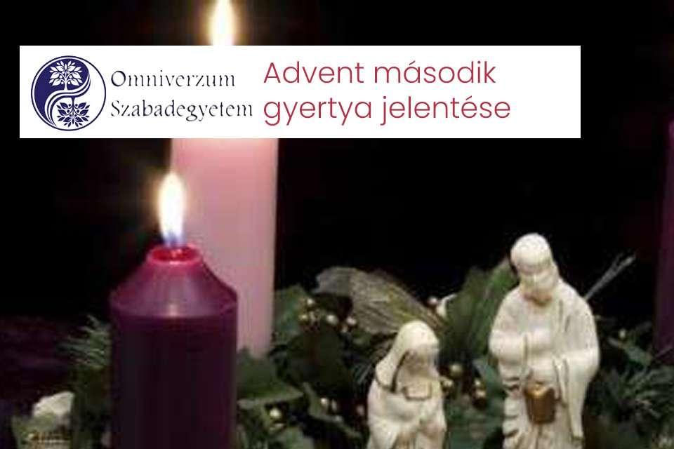 Advent második gyertya jelentése